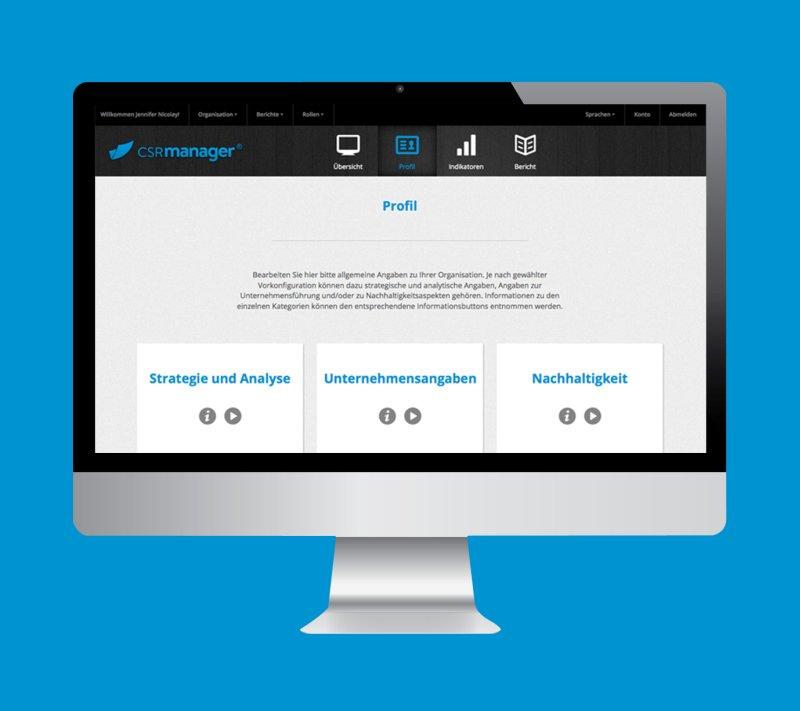 CSRmanager Startseite